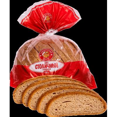 """Хлеб """"Столичный"""" подовый в нарезке"""