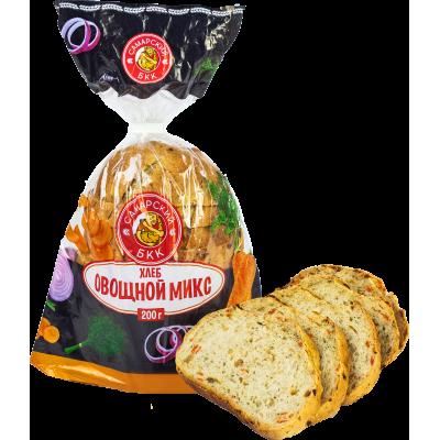 """Хлеб """"Овощной Микс"""" подовый в нарезке"""