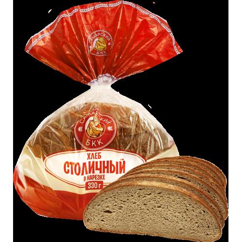 """Хлеб """"Столичный"""" в нарезке (половинка)"""