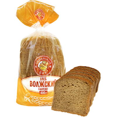 "Хлеб ""Волжский"" в нарезке"