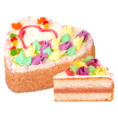 """Торт """"Бисквитно-кремовый"""""""