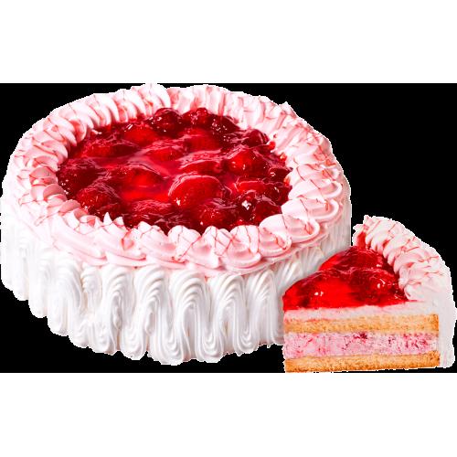 """Торт """"Йогуртовый Клубника"""""""