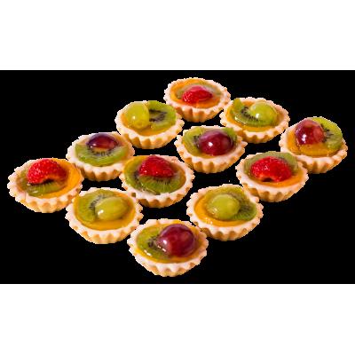 """Набор пирожных """"Корзиночка с фруктами"""" 0,54 кг"""