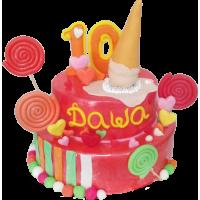 Детский торт 201 / Торт эксклюзивный (мастика,марципан)