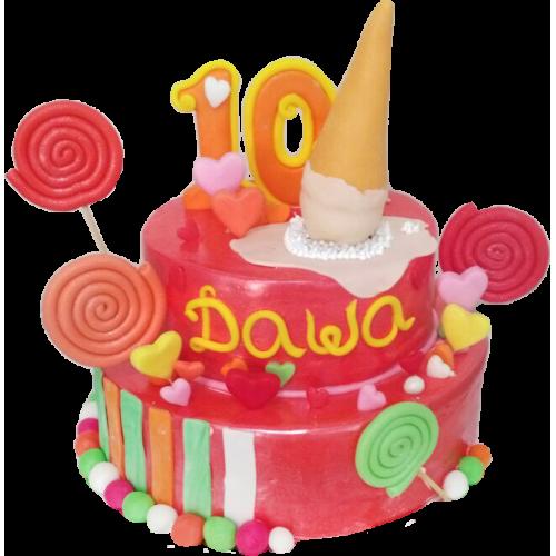 Детский торт 201