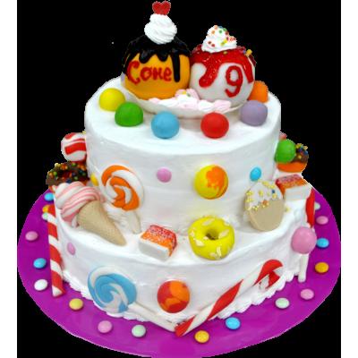 Детский торт 210 / Торт эксклюзивный по инд.заказу