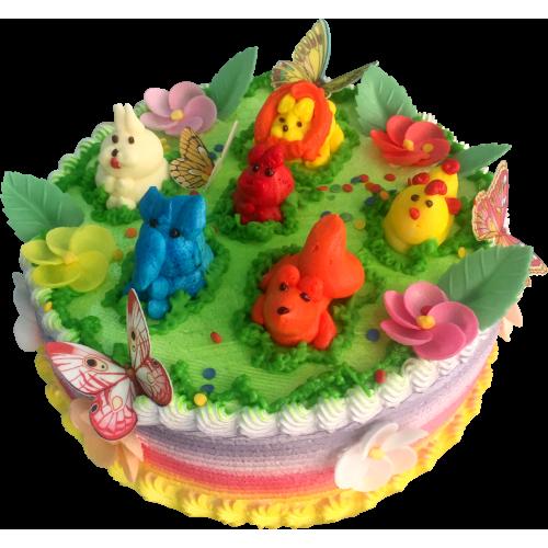 Детский торт 214
