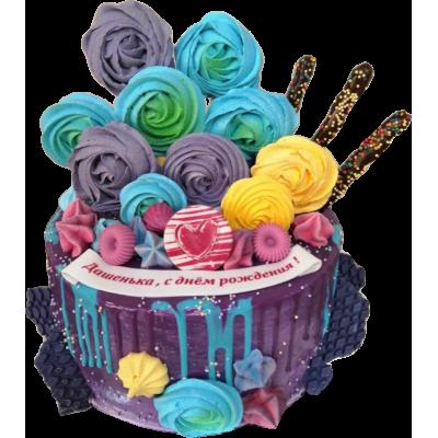 Детский торт 204 / Торт эксклюзивный