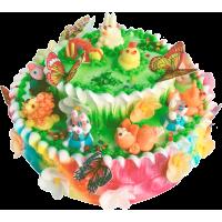 Детский торт 217 / Торт с индивидуальной отделкой