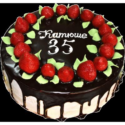 Праздничный торт 210 / Торт экскл. с фруктами по инд.заказу