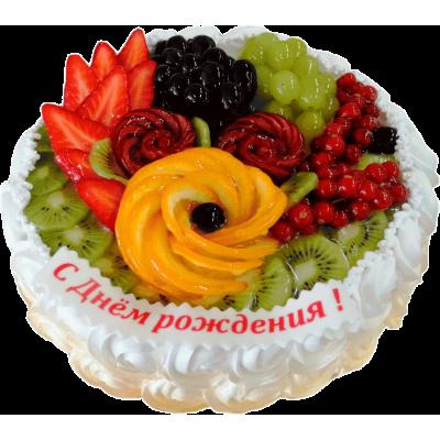 Праздничный торт 211 / Торт экскл. с фруктами по инд.заказу