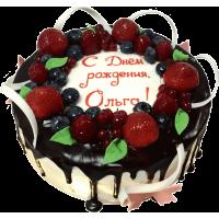 Праздничный торт 212 / Торт экскл. с фруктами по инд.заказу
