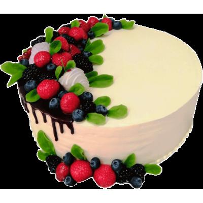 Праздничный торт 213 / Торт экскл. с фруктами по инд.заказу