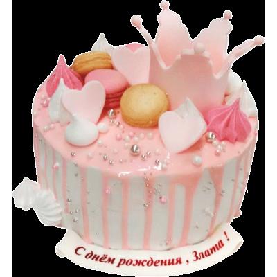 Праздничный торт 204 / Торт эксклюзивный (мастика,марципан)