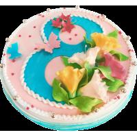 Праздничный торт 287 / Торт эксклюзивный по инд.заказу