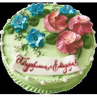 Праздничный торт 288 / Торт эксклюзивный