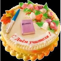 Праздничный торт 292 / Торт эксклюзивный (мастика,марципан)
