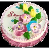 Праздничный торт 286 / Торт эксклюзивный