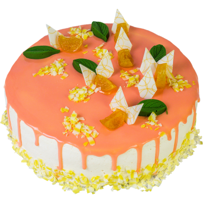 """Торт """"Апельсиновый фреш"""" 1,8 кг"""