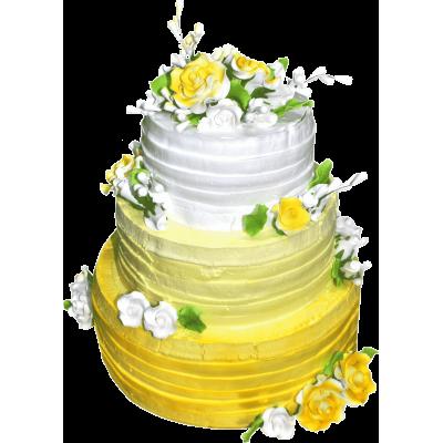 Свадебный торт 202 / Торт эксклюзивный