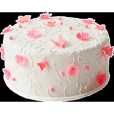 Свадебный торт 208 / Торт эксклюзивный (мастика,марципан)