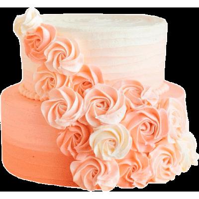 Свадебный торт 209 / Торт эксклюзивный