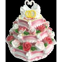 Свадебный торт 222 / Торт с индивидуальной отделкой
