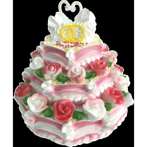 Свадебный торт 222