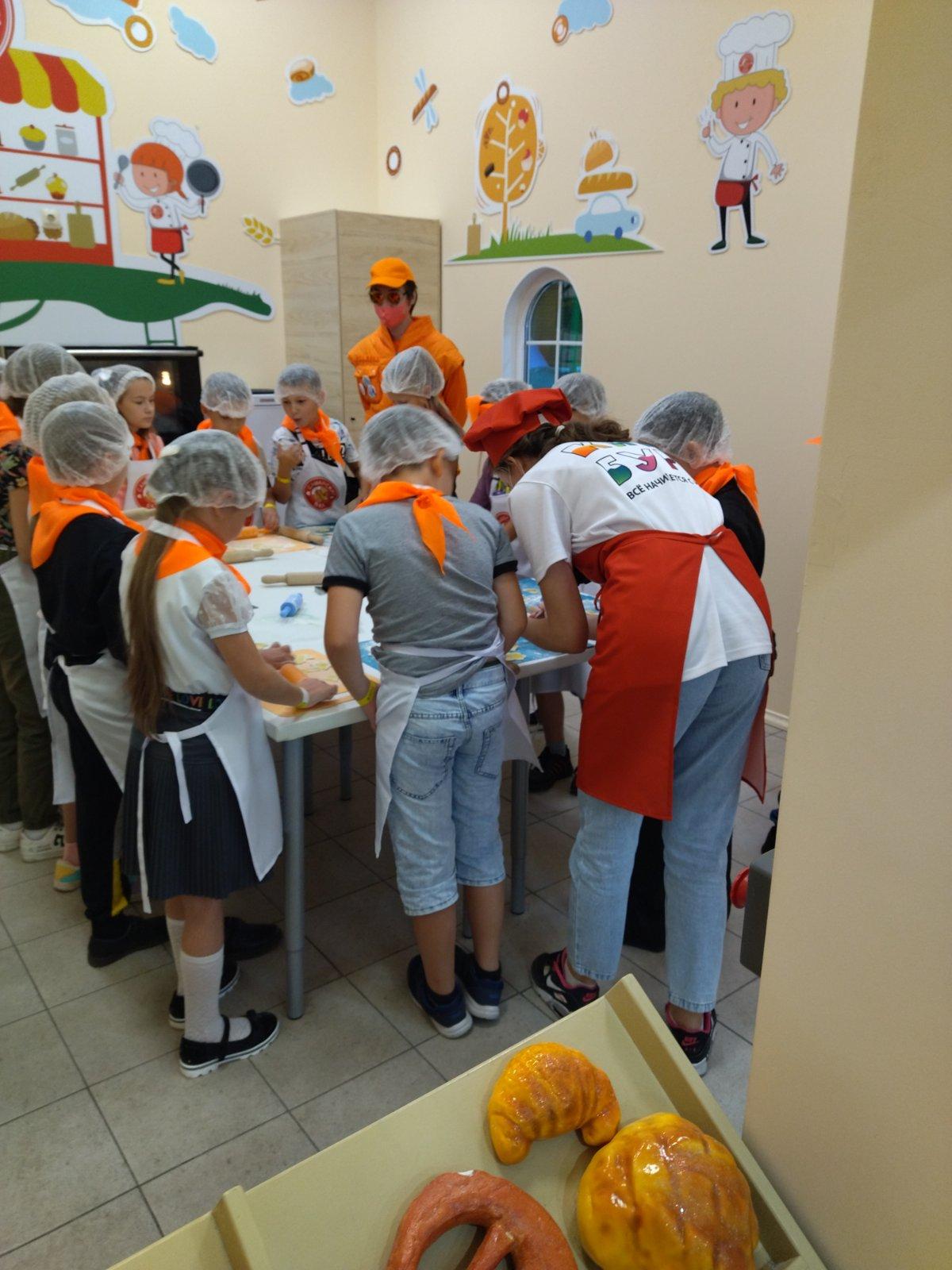 Открытие пекарни Самарского БКК в Кидбург